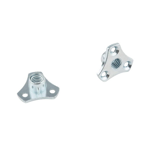 """QTN1109 Screw-On T Nuts, 3/8""""-16 TPI – Pack of 8"""