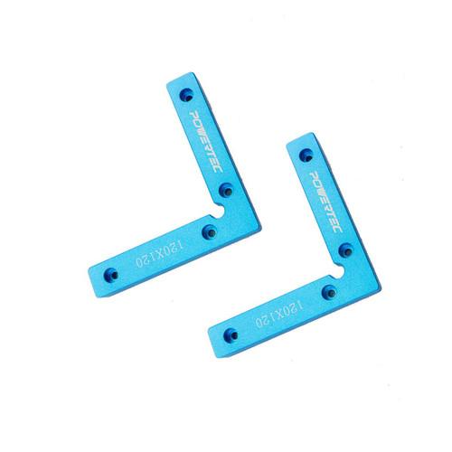 "71346 Aluminum Precision Clamping Square 90 Degree (4-3/4 x 4-3/4"") - 2PK"