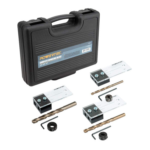 71397 Ultimate Doweling Jig Kit - Precision Woodworking Series