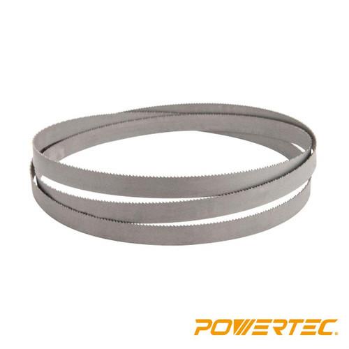 Bi-Metal Bandsaw Blade 72-1/2 x 1/2 x 14 TPI for Soft/Non-Ferrous Metal