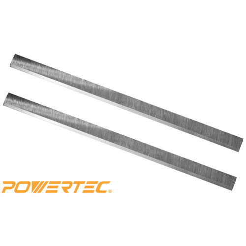 """POWERTEC HSS Planer Blades for Grizzly 15/"""" Planer G0453 Free Shipping"""