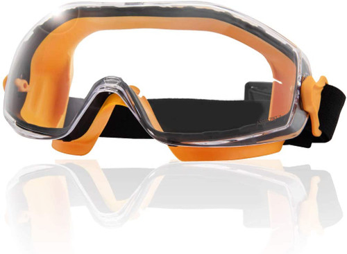 71563 Safety Goggles, Anti Fog & Clear UV Light Protection