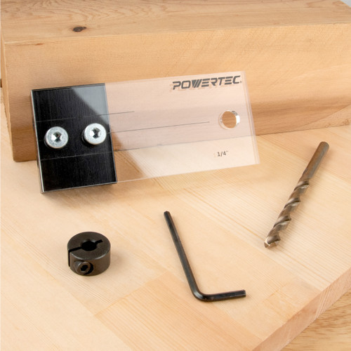 Dowel Drilling Jig Kit With Cobalt M35 (more sizes)