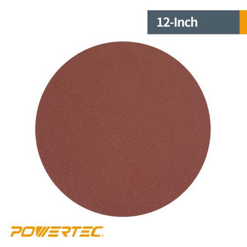 "12"" PSA Aluminum Oxide Adhesive Sanding Disc Assortment"