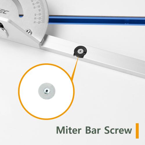 YMG71HS Miter Bar Screw for 71142 / 71143 / 71391 Miter Gauges, M4 x 7.8mm, 1PK