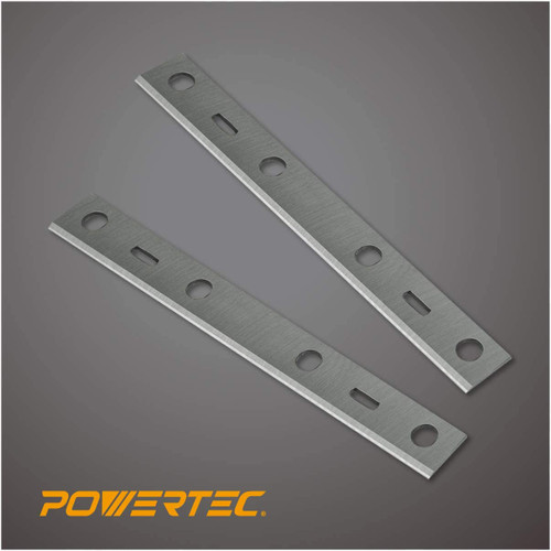 "148015 6"" HSS Jointer Knives for Porter Cable PC160JT, Set of 2"
