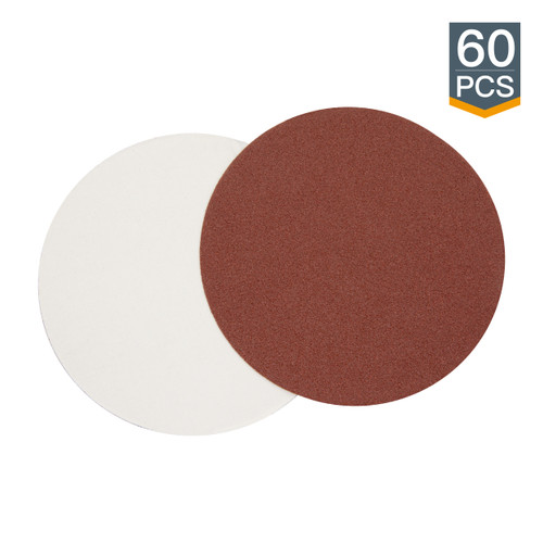 PSA Sanding Disc 5 Inch Aluminum Oxide Grits Assortment 60PK
