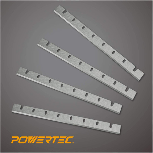 12809DD 12.5 Inch Replacement Planer Blades for DeWalt 733, 4 Blades
