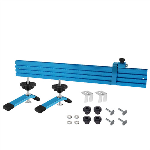 71633 Woodworking Fence Kit for T-Slot Drill Press Table Tops