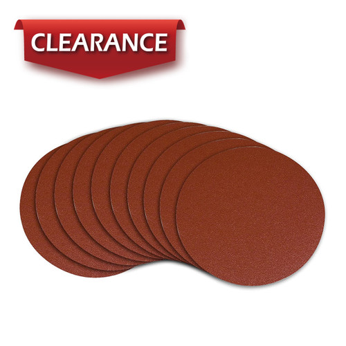 """10"""" PSA 320 Grit A/O Adhesive Sanding Disc, 10 Pack"""