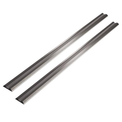 """12841 3-1/4"""" Tungsten Carbide Hand Held Planer Blades Replacement for Black&Decker, Bosch, DeWalt, Hitachi, Makita, Porter Cable, Ryobi, Stanley, WEN - Set of 2"""