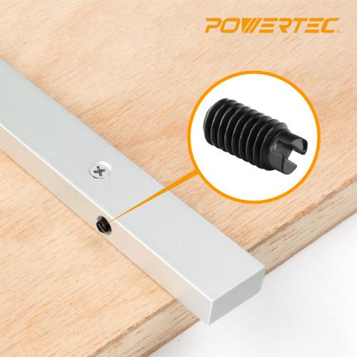 "YMB71SR Plastic Screw #10-32 x 3/8"" for 71518/ 71519/ 71144/ 71520 Miter Gauge Jig and Fixture Bar, 1PK"