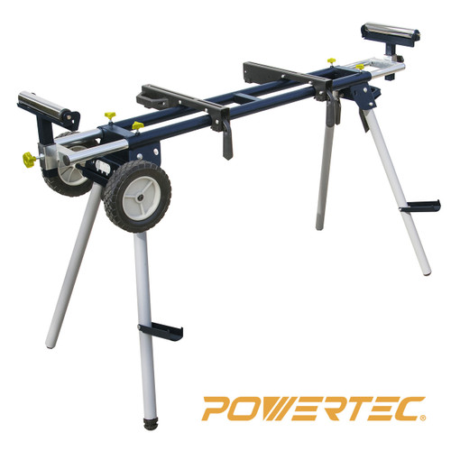 MT4000 Miter Saw Stand with Wheels and Power Outlet