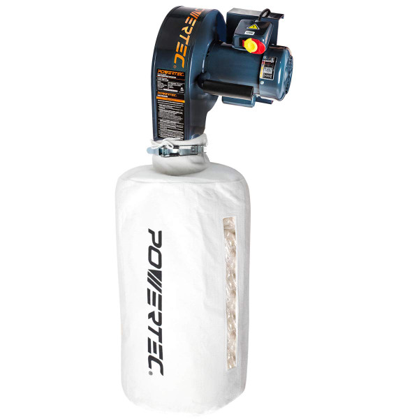 DC5370 Wall Dust Collector with 2.5 Micron Filter Bag