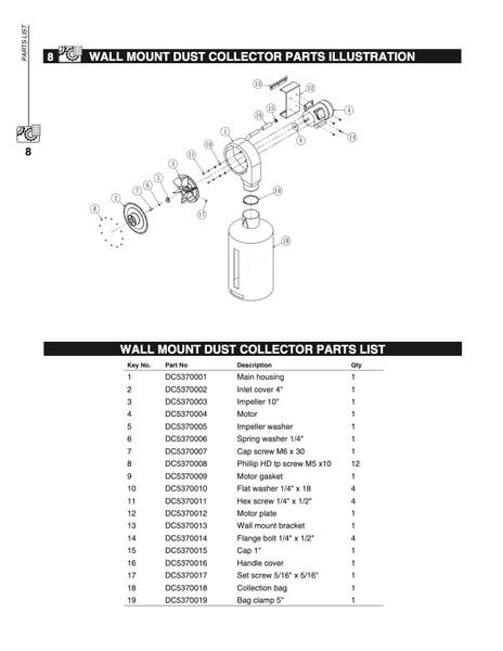 YDC5370MB Mounting Bracket Set (Key#12, 13, 14)