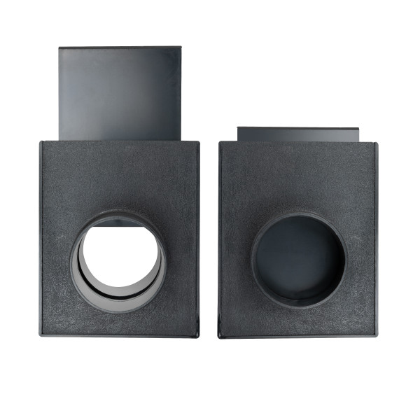"""70133 Blast Gate for Vacuum/Dust Collector,ABS, 2-1/2"""""""