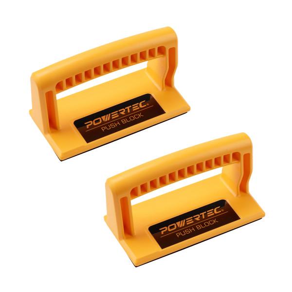 71339P2 Deluxe Push Block Ergonomic Handle with Max Grip 2PK