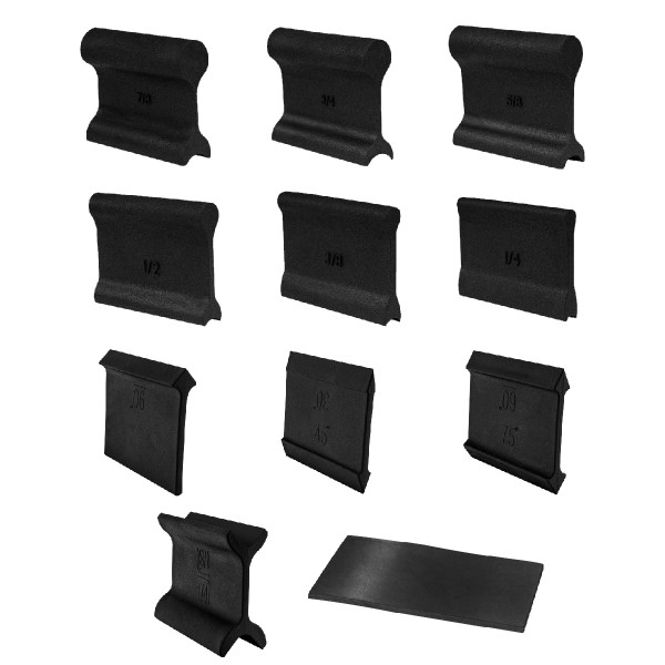 71620 21-Profile Contour and Angle Sanding Grip Pack 11pc Set