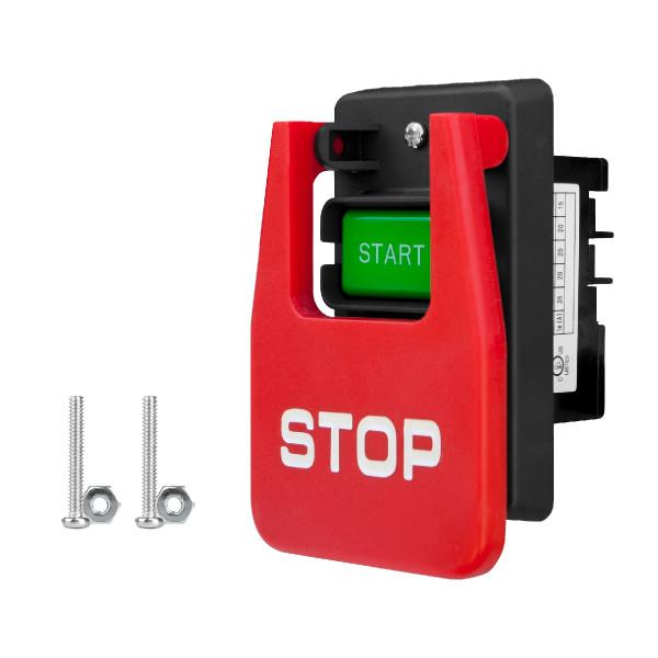 71651 110/220V Paddle Switch with Single Gang Box Screws Installation Hardware Kit
