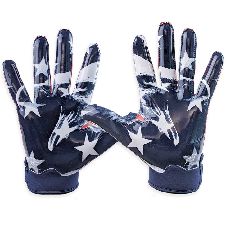 Battle Sports USA Doom 1.0 Football Receiver Gloves - Adult and Youth