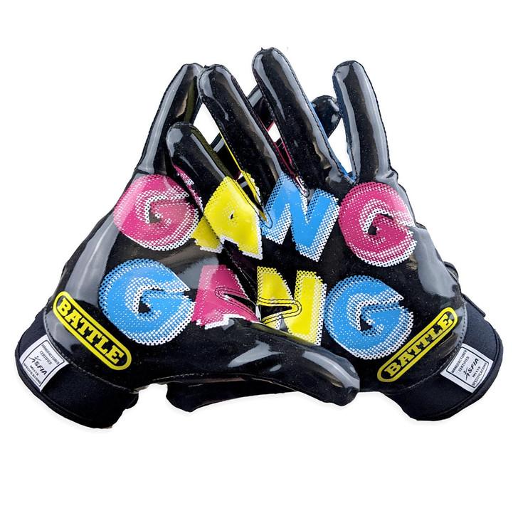Battle Sports Gang Gang Football Receiver Gloves - Adult
