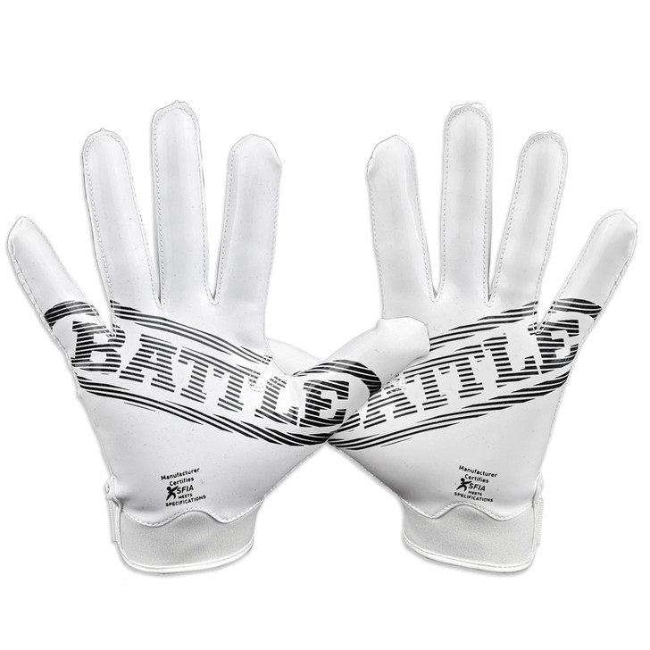Battle Sports Doom 1.0 Football Receiver Gloves - Adult and Youth