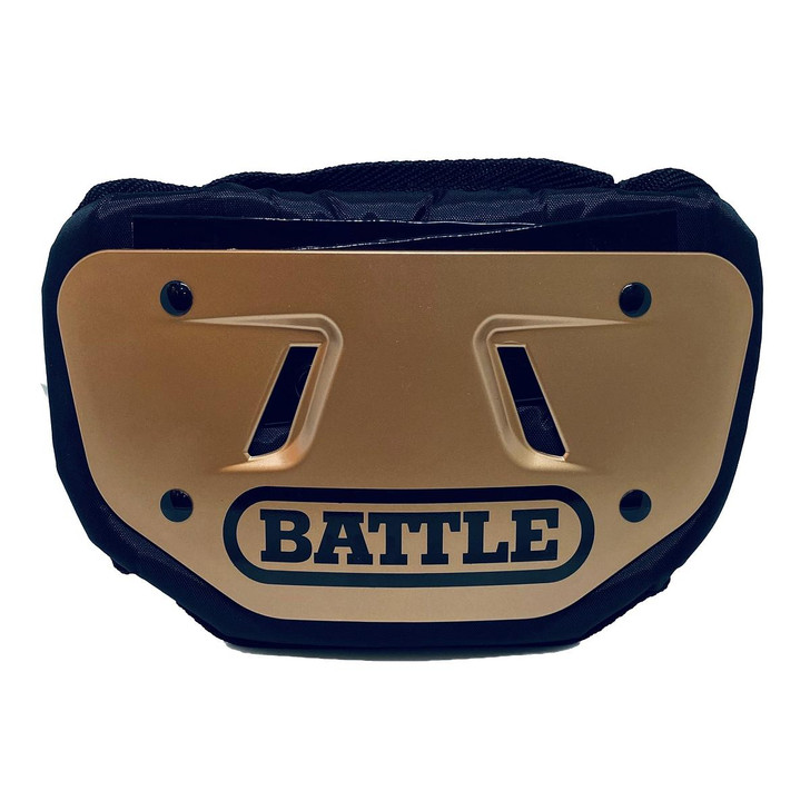 Battle Sports Copper Football Back Plate - Adult and Youth