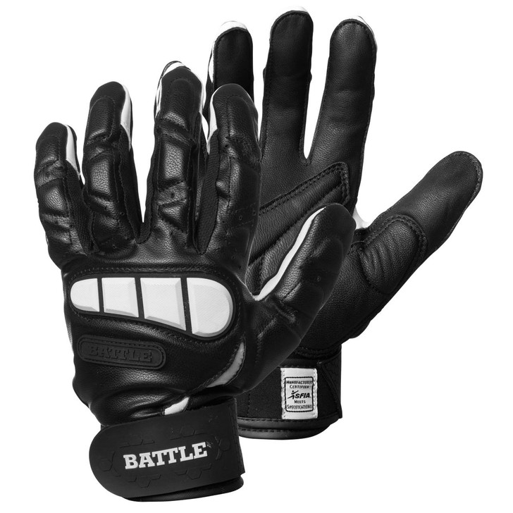 Battle Sports Lineman Football Gloves- Adult and Youth