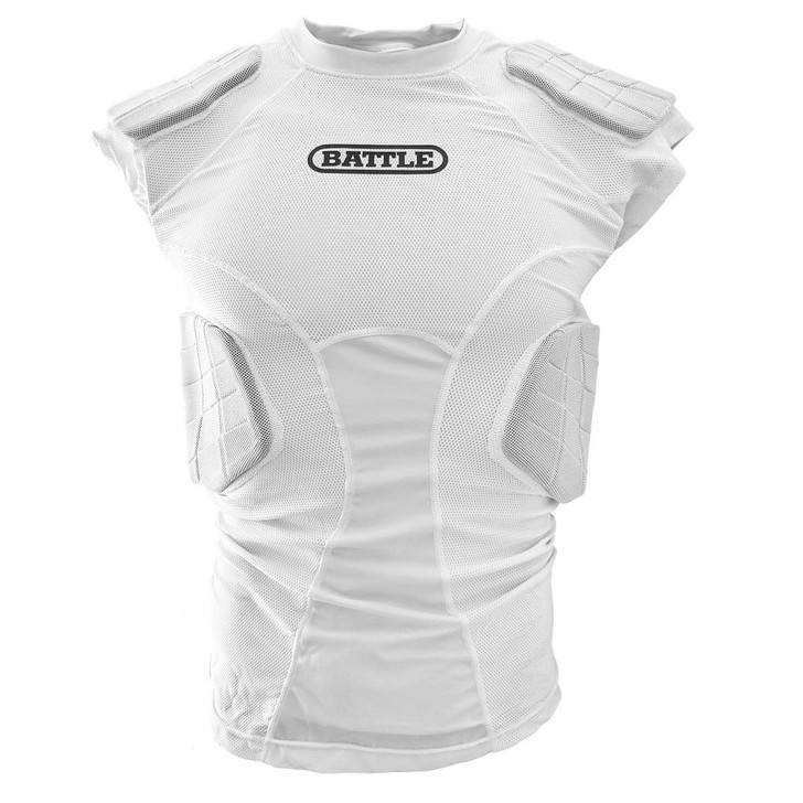 Battle Sports Integrated Padded Compression Top - Adult and Youth