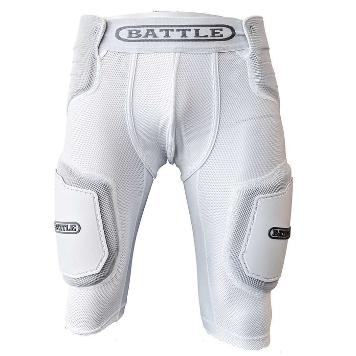 Battle Sports Integrated Padded Compression Girdle - Adult and Youth
