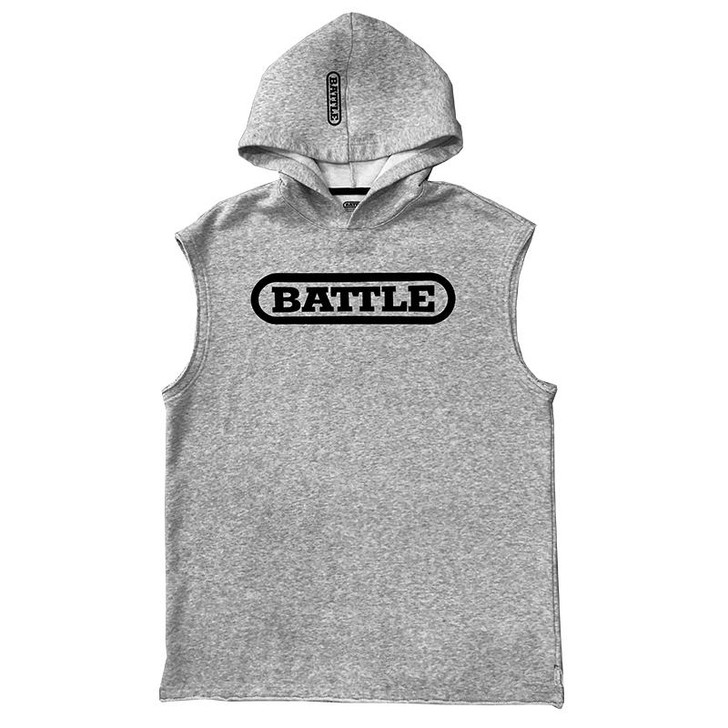 Battle Sports Sleeveless Mid-Weight Hoodie - Adult and Youth