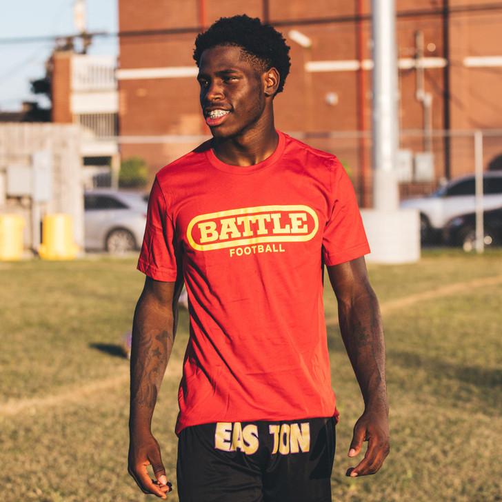 Battle Sports Battle Original Football T-Shirt- Adult