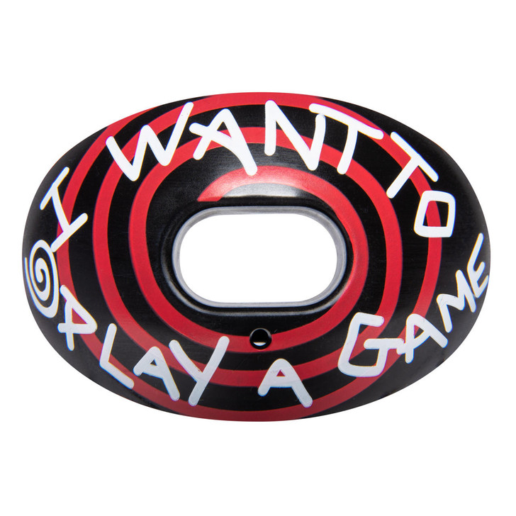 Battle Sports Want to Play a Game Oxygen Football Mouthguard