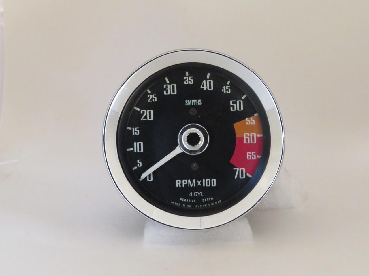 MGB & MG Midget NOS Smiths Tachometer  RVC1410/00AF