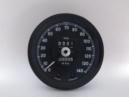 Jaguar 3.8S NOS Smiths 140MPH Speedometer  SN6326/09 (1080)