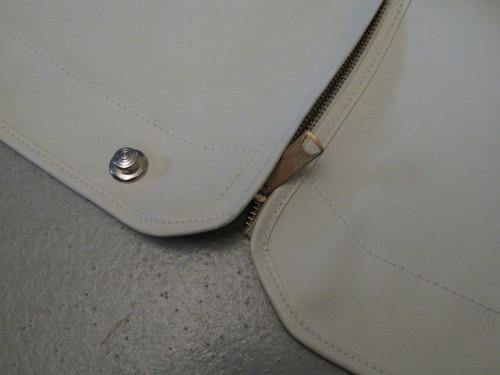 Tonneau Cover White NOS Amco Brand Fits Austin Healey 100/6 2-Seater 2903