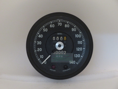 Jaguar 420 NOS Original Smiths 140MPH Speedometer SN6326/65