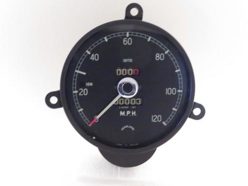 Jaguar 3.4L NOS Smiths 120MPH Speedometer  Z46599