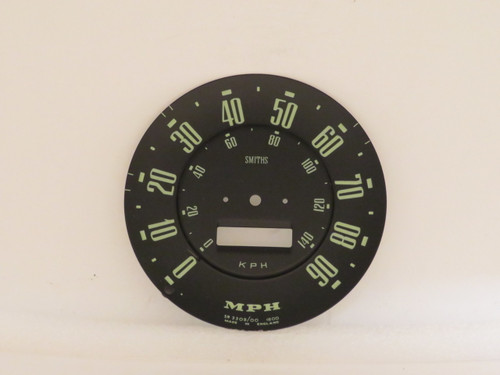 Hillman Minx Standard & Deluxe Speedometer Dial Face  SN3309/00