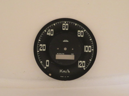 Land Rover Series II & IIA KPH Jaeger Speedometer Dial Face