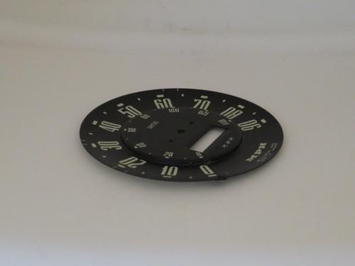 Hillman Minx DeLuxe Series 1 & 2 Speedometer Dial Face
