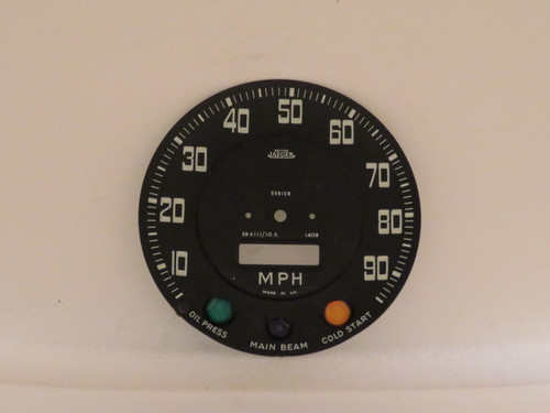 Land Rover Series II Speedometer Dial Face