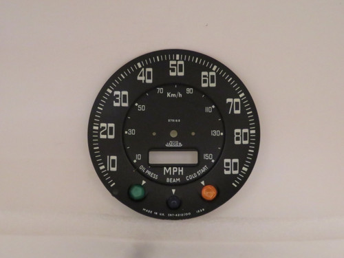 Land Rover Series 3 Speedometer Dial Face Plate