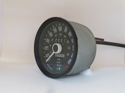 Triumph Spitfire 120MPH Speedometer