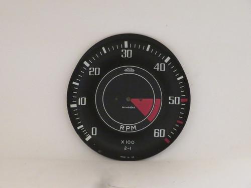 Triumph TR4 Jaeger Tachometer Dial Face Plate