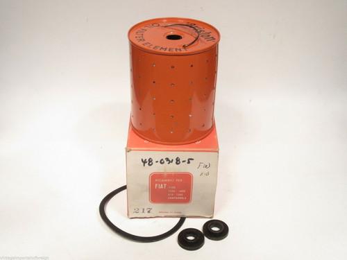 Fiat 1100/103E 1100/103D 1400 1900 & 1200 Oil Filter Element