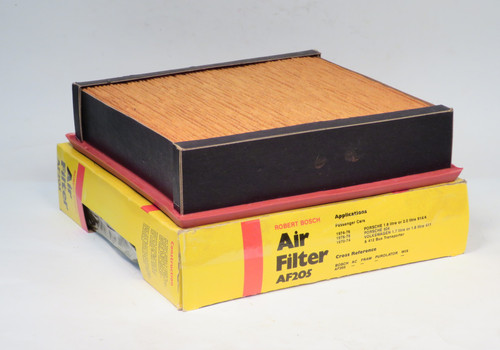 Porsche 914 924 & Jaguar XJ6 XJ12 Bosch Air Filter  AF205