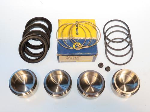 Datsun 240Z 260Z & 280Z 316 Stainless Steel Front Brake Caliper Piston & Seal Kit 64932609SSK