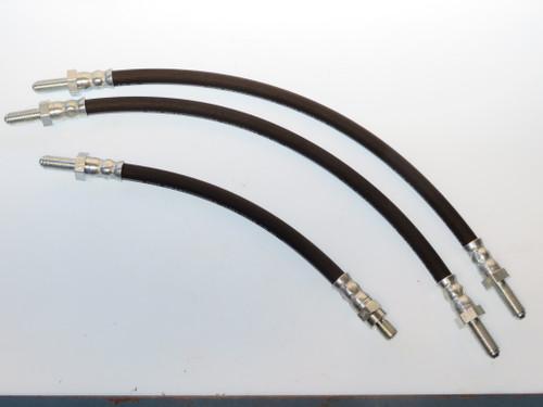Iso Rivolta 1963-1970 3 Piece Brake Hose Kit  3700825-64047366