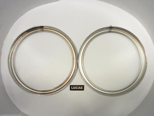 Hillman Super Minx MK1 & MK2 NOS Lucas Headlamp Rims 5452 1434